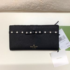 Kate Spade Laurel Way Jeweled Wallet